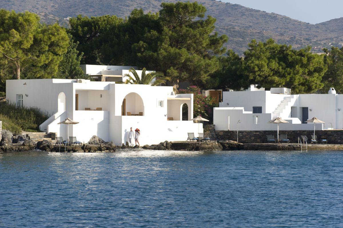 Minos Beach Art Hotel, Agios Nikolaos, Crete.