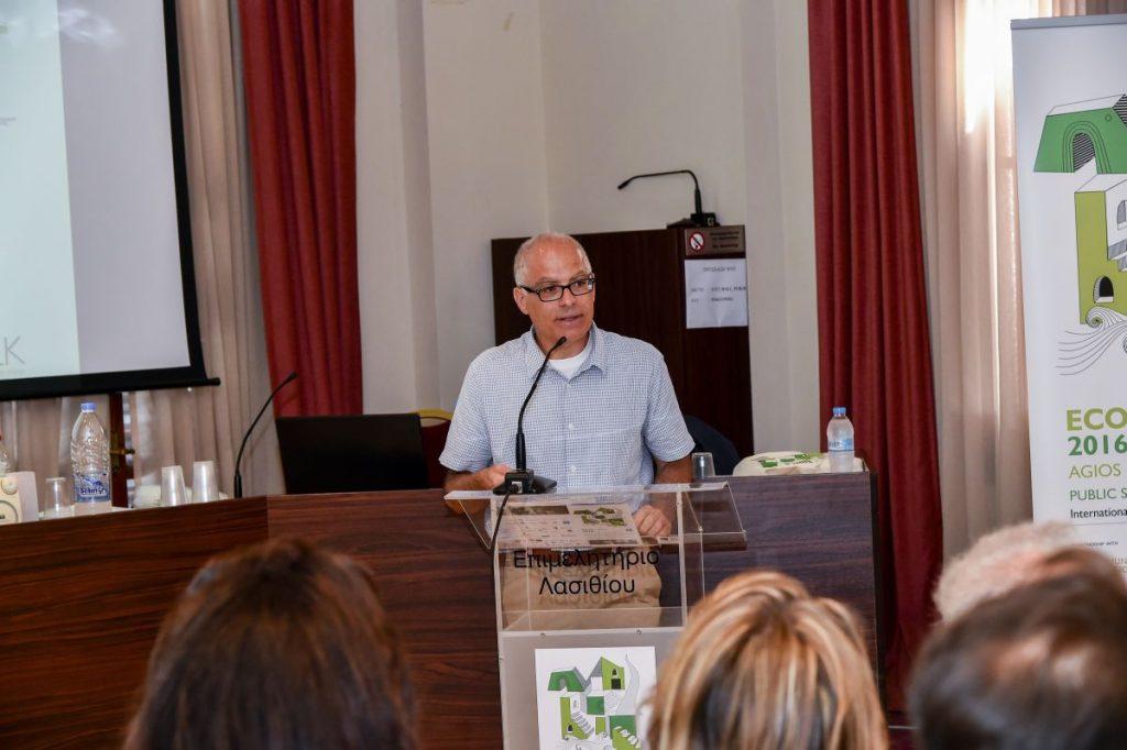 Ecoweek Founder Dr Elias Messinas. Photo credit: august.gr