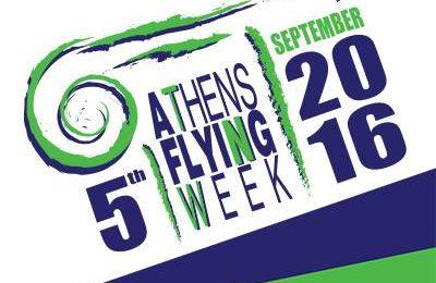 Athens Flying Week 2016 logo