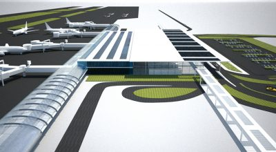Impression of Kastelli airport.