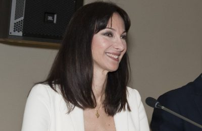 Greek Alternate Tourism Minister Elena Kountoura