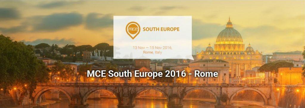 MCE South Europe 2016 - Rome