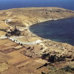 Ancient city of Poliochni, Limnos.