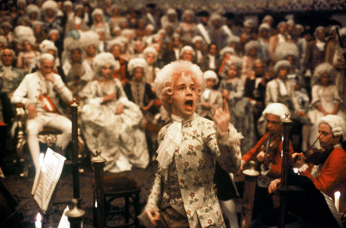 """Amadeus"" is a film that surpassed the boundaries of biography music."