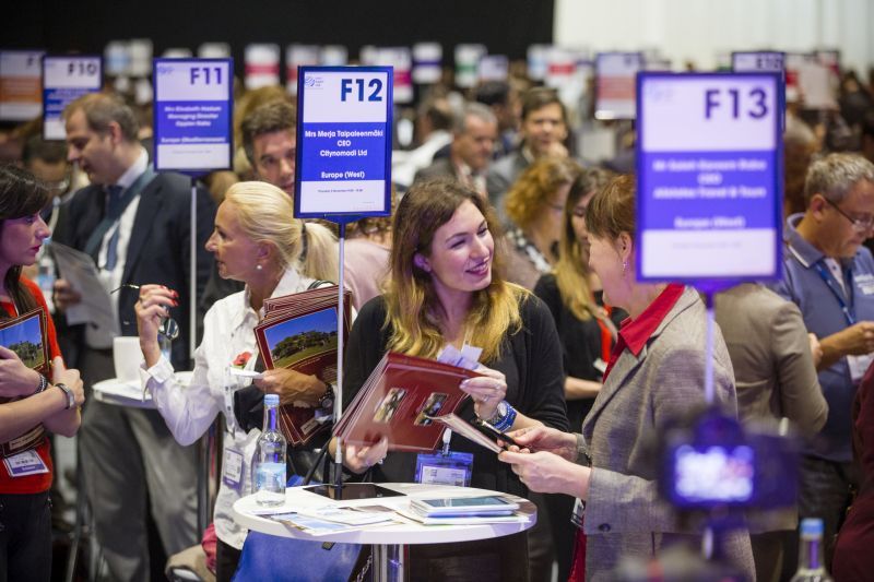World Travel Market 2015, ExCeL, London - General view Speed Networking