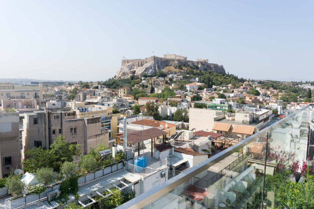 Electra Metropolis Acropolis view from the roof