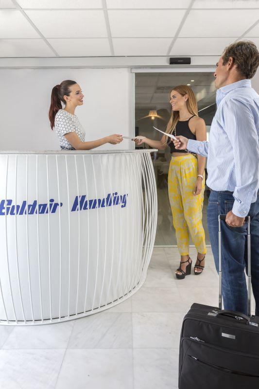 """""""Your Mykonian Luxury Lounge"""", Mykonos Airport."""