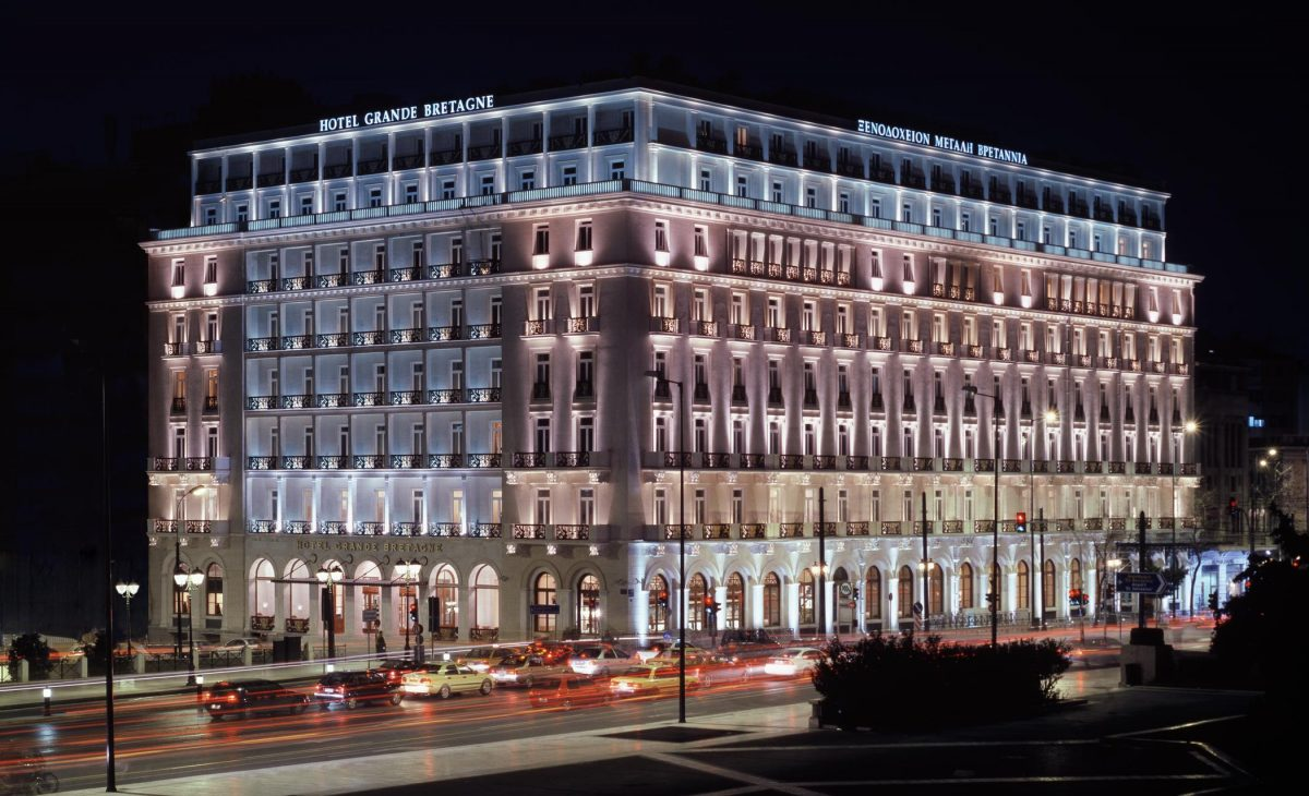 Hotel Grande Bretagne, Athens, Exterior view