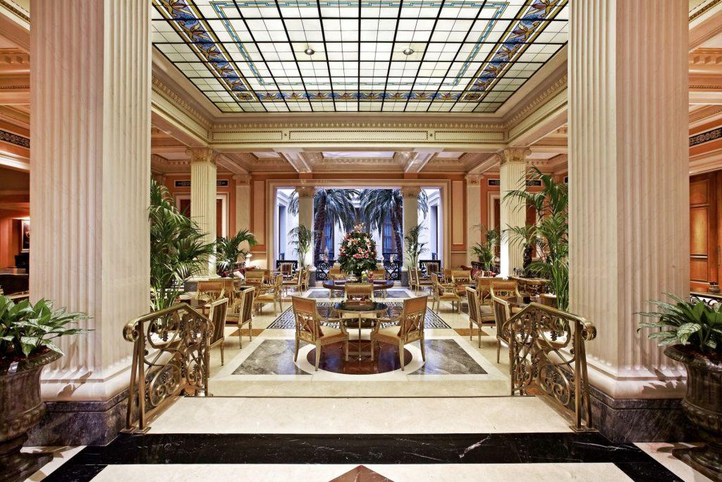 Hotel Grande Bretagne, Athens Main Lobby