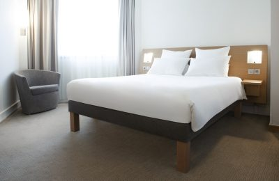 Novotel Athènes' Live N Dream bedding concept.
