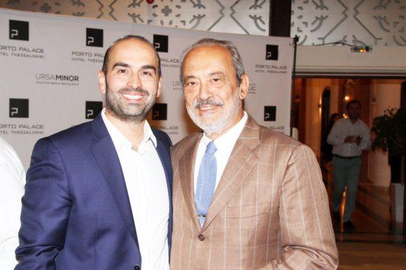 Dimitris Mamadas, Porto Palace Hotel Thessaloniki CEO and Lefteris Chatzopoulos, Chatzopoulos S.A. President.