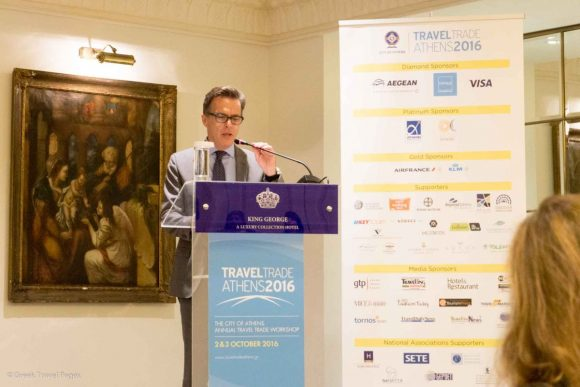 Nikos Kampanopoulos, the general manager of VISA Europe, Greece, Cyprus, Bulgaria, informed that VISA supports Greek tourism with specific information campaigns as well as other actions.