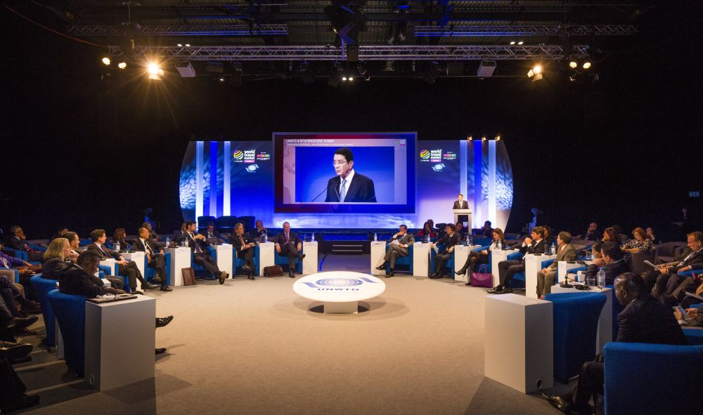 World Travel Market 2015, ExCeL, London - General view, UNWTO Ministers' Debate.