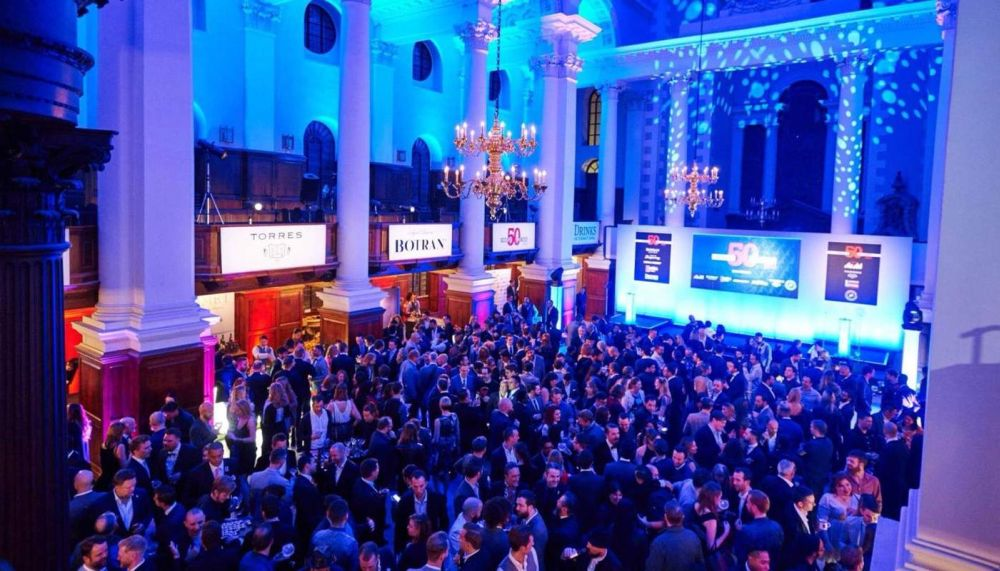 World's 50 Best Bars 2016 awards ceremony.
