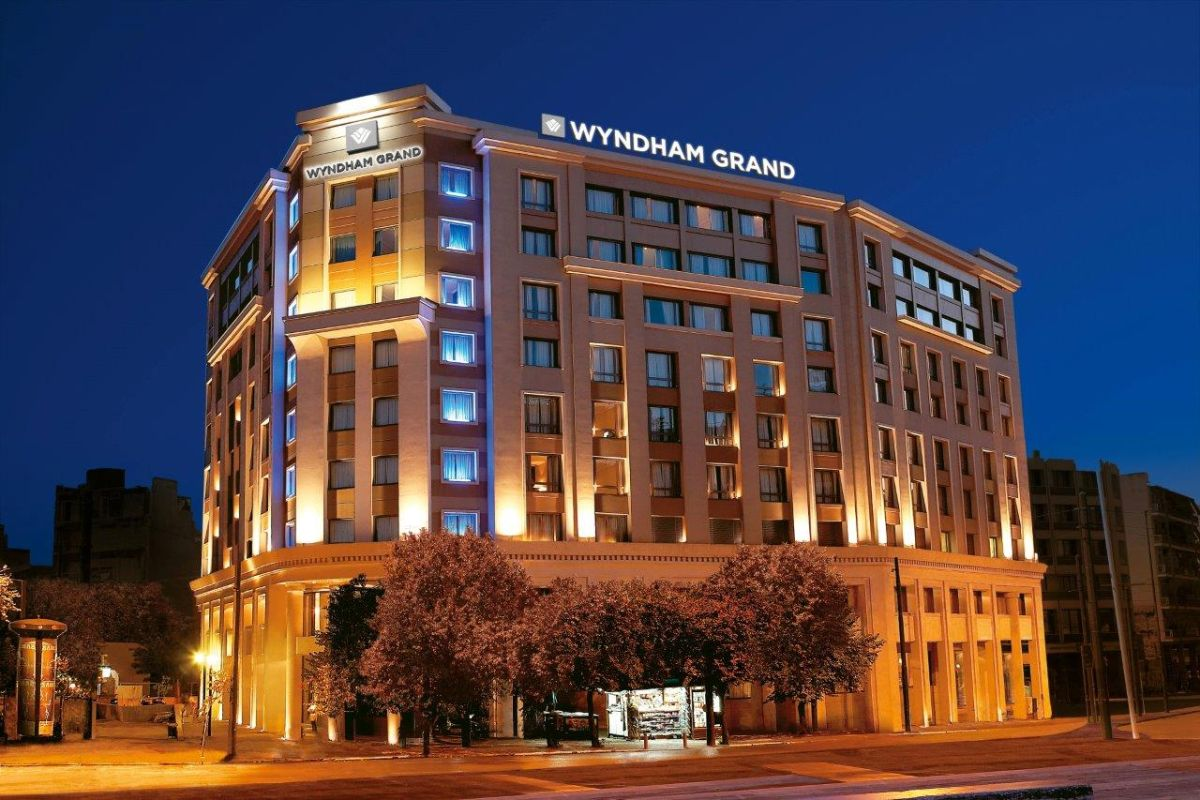 Wyndham grand athens hotel to open december 1 gtp headlines for The wyndham