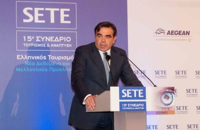 European Commission Chief Spokesperson, Margaritis Schinas.