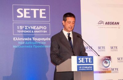 Greek Secretary General for Tourism Policy and Development, Yiorgos Tziallas.