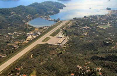 Skiathos Airport. Photo source: airphotos.gr