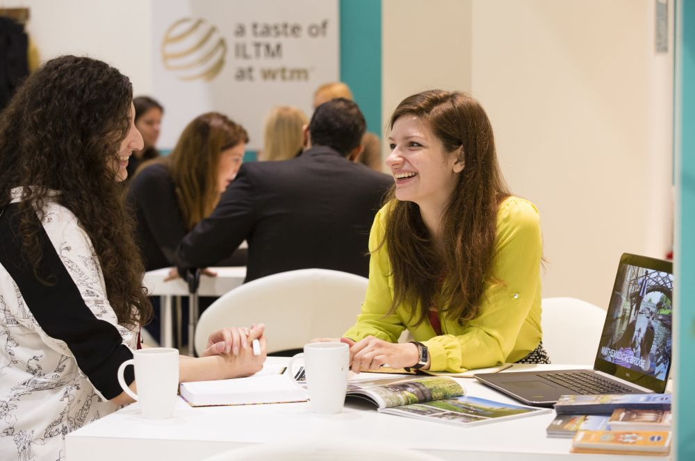 World TRavel Market 2015, ExCeL, London - ILTM & Wellness lounge
