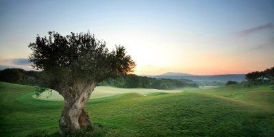 The Dunes Course 7th hole, Costa Navarino.