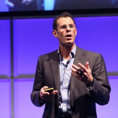 World Travel Market 2016, ExCeL London - Doug Lansky's talk in the Inspire Theatre at WTM