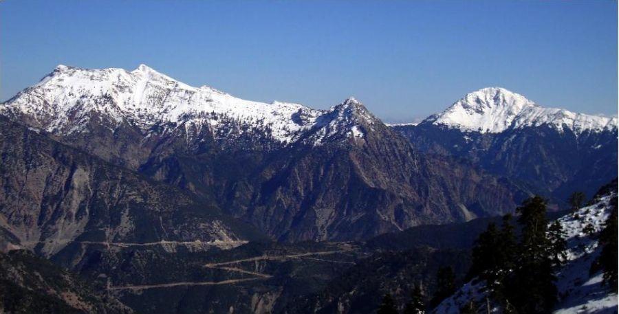 Chelidona and Kaliakounda mountains.