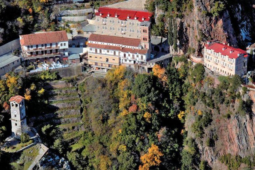 Prousos Monastery.