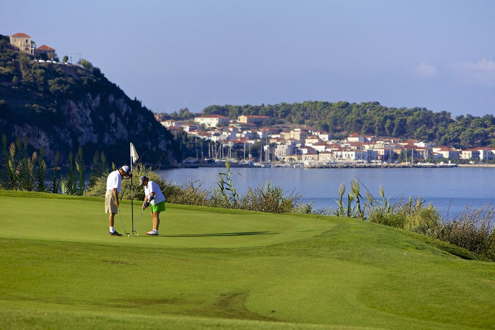 The Bay Course. Photo: Costa Navarino