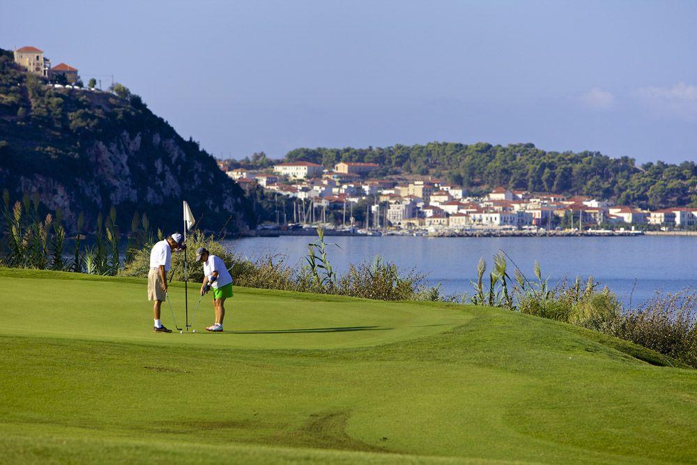 The bay course. Photo credit: Costa Navarino