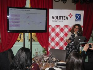 Valeria Rebasti, Commercial Country Manager for Italy and Greece.