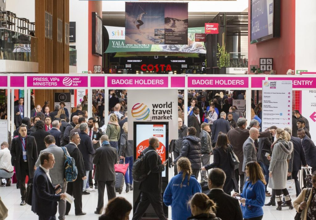 World Travel Market 2016, ExCeL London - Busy first day !
