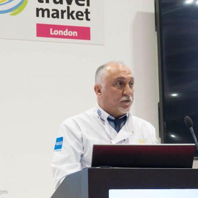 World Travel Market 2016, ExCeL London - Greek National Tourism Press Conference