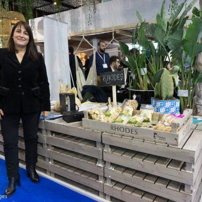 WTM 2016 Marietta Papavasileiou, Vice Governor of Tourism for the Region of South Aegean.