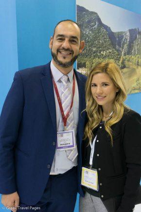 GTP's Charis Brousalian and Ioanna Botsivali, Valis Executive Suites.