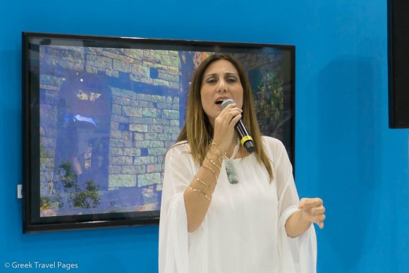 Greek soprano Anastasia Zanni