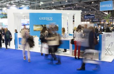 WTM2016 Greece stand