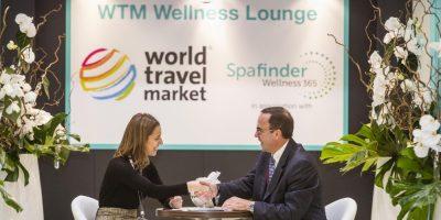 World Travel Market 2015, ExCeL, London: Wellness Entrance.