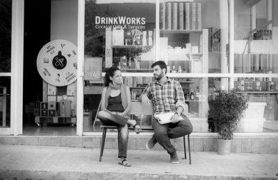 Apostolos Georgopoulos & Athina Karatzogianni DrinkWorks Lovegreece