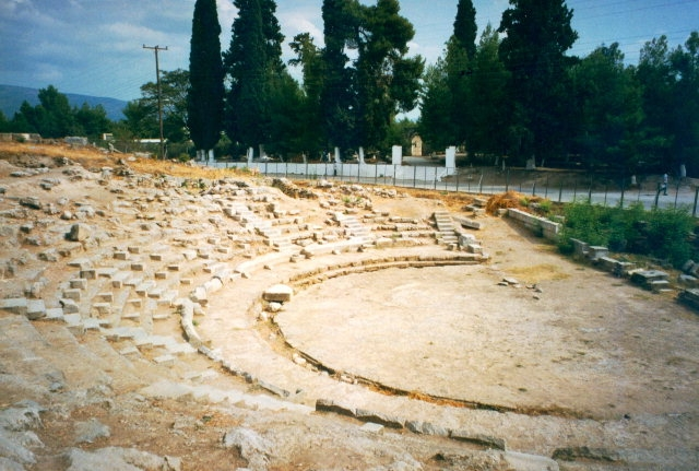 Archaeological site of Orchomenos.
