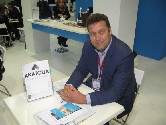 Michael Chrysochoidis, Anatolia Hotels & Villas General Manager.