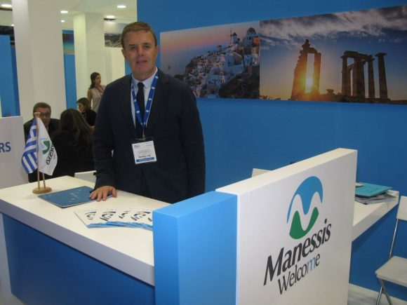 Manessis Travel Vice President Andreas Manessis.