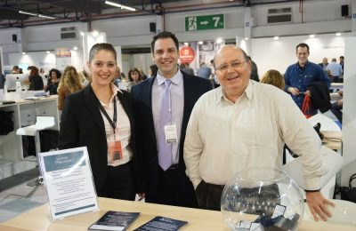 The Spyrou Philoxenia team at the 100% Hotel Show 2016.