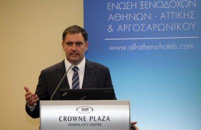 Athens - Attica & Argosaronic Hotel Association President Alexandros Vassilikos.