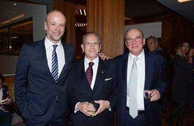 Electra Group's Yiannis Retsos,Gerasimos Fokas and Alkis Svyriadis.