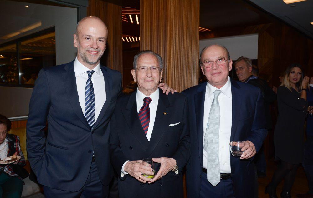 Electra Group's Yiannis Retsos, Gerasimos Fokas and Alkis Svyriadis.