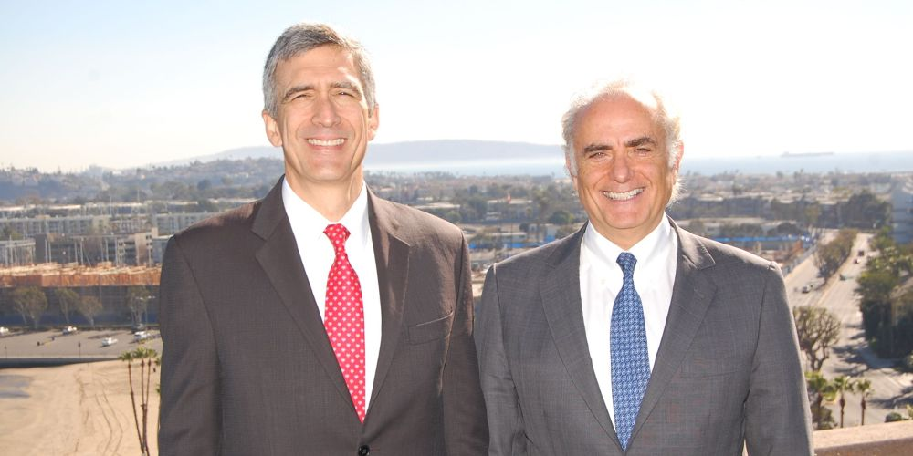 Pedro Heilbron and Calin Rovinescu.