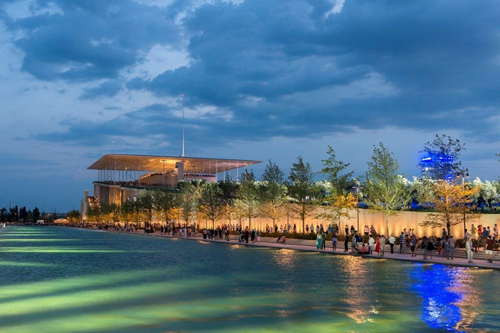 The Stavros Niarchos Foundation Cultural Centre. Photo source: SNFCC