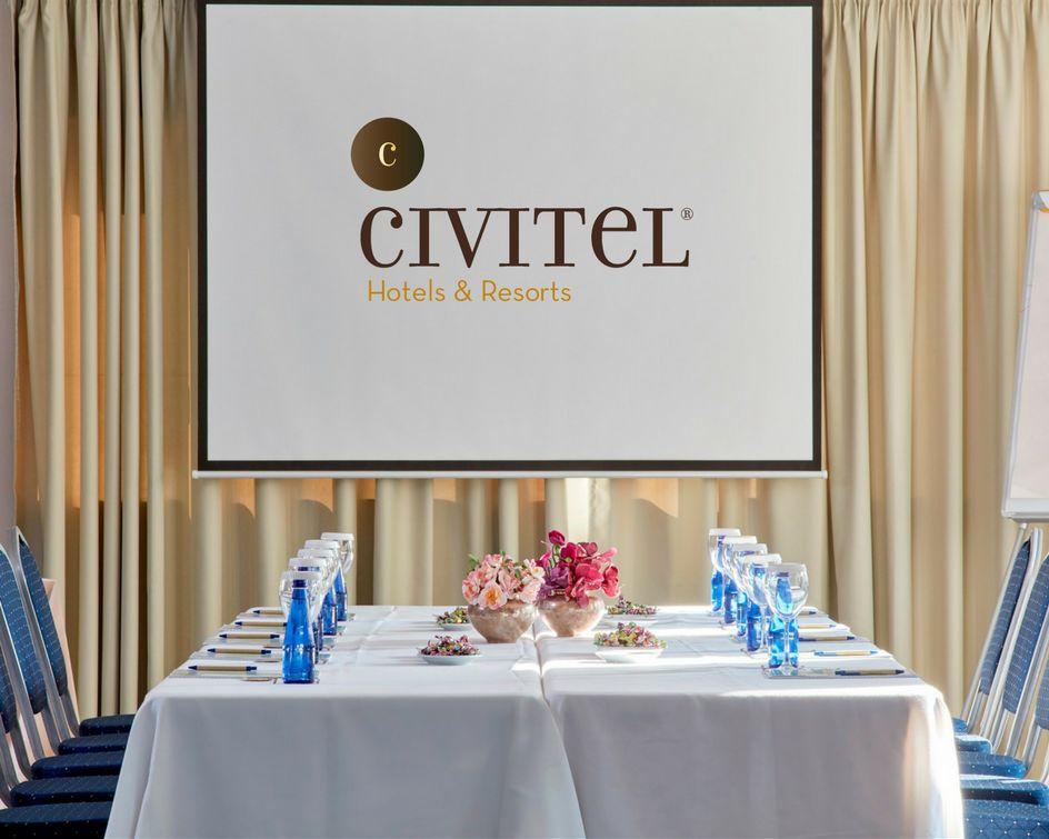Civitel Esprit meeting room.