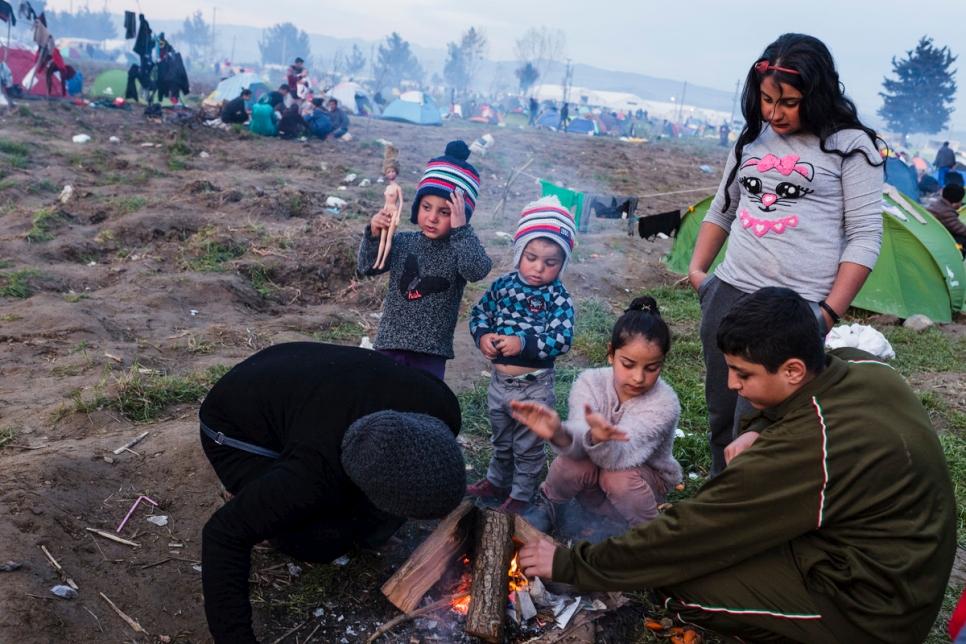 Photo © UNHCR/Achilleas Zavallis