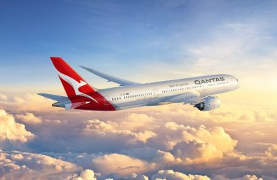 Qantas 787 Dreamliner. Credit Boeing